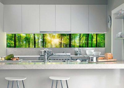 1 led leuchtmodul leuchtrahmen octalumina kitchen fotocredit octanorm kuechenzeile modul sondergroesse eventpoint