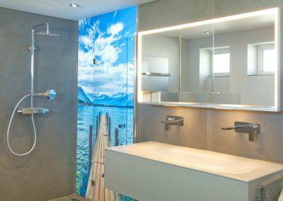 2 led leuchtmodul glasdruck uv druck dusche foto eisfeldt sanitaer bad eventpoint