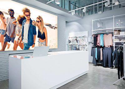 4 led leuchtrahmen octalumina 120 pos shop boutique verkauf spanntuch uv druck fotocredit octanorm eventpoint